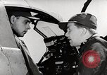 Image of P-39's taxi controls United States USA, 1942, second 2 stock footage video 65675029754