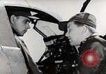 Image of P-39's taxi controls United States USA, 1942, second 4 stock footage video 65675029754