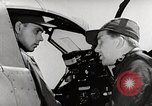 Image of P-39's taxi controls United States USA, 1942, second 8 stock footage video 65675029754