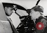 Image of P-39's taxi controls United States USA, 1942, second 9 stock footage video 65675029754
