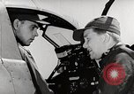Image of P-39's taxi controls United States USA, 1942, second 10 stock footage video 65675029754