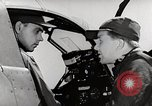 Image of P-39's taxi controls United States USA, 1942, second 12 stock footage video 65675029754