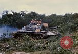 Image of clearing vegetation Bein Hoa South Vietnam, 1967, second 10 stock footage video 65675029758
