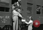 Image of North Platte canteen workers North Platte Nebraska USA, 1945, second 10 stock footage video 65675029762