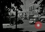 Image of busy street scene North Platte Nebraska USA, 1945, second 3 stock footage video 65675029766