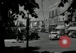 Image of busy street scene North Platte Nebraska USA, 1945, second 6 stock footage video 65675029766