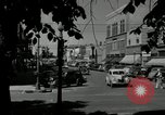 Image of busy street scene North Platte Nebraska USA, 1945, second 8 stock footage video 65675029766