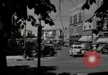 Image of busy street scene North Platte Nebraska USA, 1945, second 9 stock footage video 65675029766