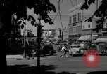 Image of busy street scene North Platte Nebraska USA, 1945, second 12 stock footage video 65675029766
