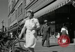 Image of pedestrians North Platte Nebraska USA, 1945, second 7 stock footage video 65675029768