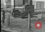 Image of US Army 90th infantry convoy Probstzella Germany, 1944, second 1 stock footage video 65675029783