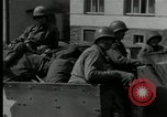 Image of US Army 90th infantry convoy Probstzella Germany, 1944, second 11 stock footage video 65675029783