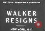 Image of James J Walker New York United States USA, 1932, second 1 stock footage video 65675029787