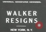 Image of James J Walker New York United States USA, 1932, second 2 stock footage video 65675029787