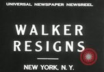 Image of James J Walker New York United States USA, 1932, second 3 stock footage video 65675029787