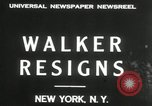 Image of James J Walker New York United States USA, 1932, second 4 stock footage video 65675029787