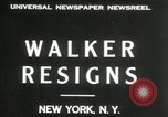Image of James J Walker New York United States USA, 1932, second 5 stock footage video 65675029787