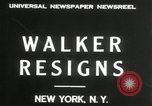 Image of James J Walker New York United States USA, 1932, second 6 stock footage video 65675029787