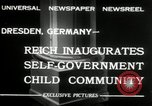 Image of Children's Center Dresden Germany, 1932, second 6 stock footage video 65675029790