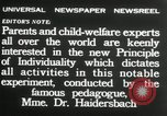 Image of Children's Center Dresden Germany, 1932, second 9 stock footage video 65675029790