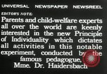 Image of Children's Center Dresden Germany, 1932, second 10 stock footage video 65675029790