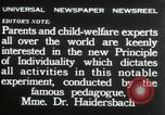Image of Children's Center Dresden Germany, 1932, second 11 stock footage video 65675029790