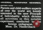 Image of Children's Center Dresden Germany, 1932, second 12 stock footage video 65675029790