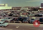 Image of Cross County Shopping Center in the 1950s Yonkers New York USA, 1958, second 2 stock footage video 65675029792