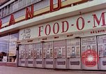 Image of Grand Union grocery store Food-O-Mat Yonkers New York USA, 1958, second 1 stock footage video 65675029794
