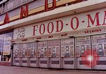 Image of Grand Union grocery store Food-O-Mat Yonkers New York USA, 1958, second 2 stock footage video 65675029794