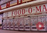Image of Grand Union grocery store Food-O-Mat Yonkers New York USA, 1958, second 3 stock footage video 65675029794