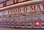 Image of Grand Union grocery store Food-O-Mat Yonkers New York USA, 1958, second 4 stock footage video 65675029794