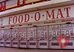 Image of Grand Union grocery store Food-O-Mat Yonkers New York USA, 1958, second 5 stock footage video 65675029794