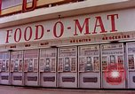 Image of Grand Union grocery store Food-O-Mat Yonkers New York USA, 1958, second 6 stock footage video 65675029794