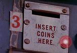 Image of Grand Union grocery store Food-O-Mat Yonkers New York USA, 1958, second 7 stock footage video 65675029794