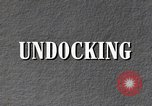 Image of undock airship United States USA, 1957, second 4 stock footage video 65675029797