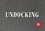 Image of undock airship United States USA, 1957, second 5 stock footage video 65675029797