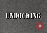 Image of undock airship United States USA, 1957, second 6 stock footage video 65675029797