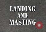 Image of landing and masting airship United States USA, 1957, second 5 stock footage video 65675029799