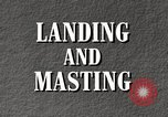 Image of landing and masting airship United States USA, 1957, second 6 stock footage video 65675029799