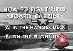 Image of controlling deck fire United States USA, 1960, second 8 stock footage video 65675029808