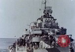Image of American Destroyer Pacific Ocean, 1945, second 6 stock footage video 65675029817