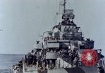 Image of American Destroyer Pacific Ocean, 1945, second 7 stock footage video 65675029817
