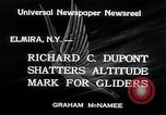 Image of gliders Elmira New York USA, 1934, second 6 stock footage video 65675029831