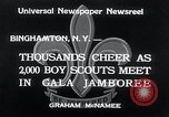 Image of boy scout jamboree Binghamton New York USA, 1934, second 5 stock footage video 65675029832