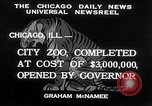 Image of Zoological garden Chicago Illinois USA, 1934, second 3 stock footage video 65675029834