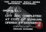 Image of Zoological garden Chicago Illinois USA, 1934, second 4 stock footage video 65675029834