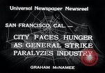 Image of Union strike San Francisco California USA, 1934, second 5 stock footage video 65675029844