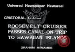 Image of Franklin Roosevelt Cristobal Canal Zone, 1934, second 2 stock footage video 65675029845