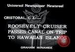 Image of Franklin Roosevelt Cristobal Canal Zone, 1934, second 3 stock footage video 65675029845